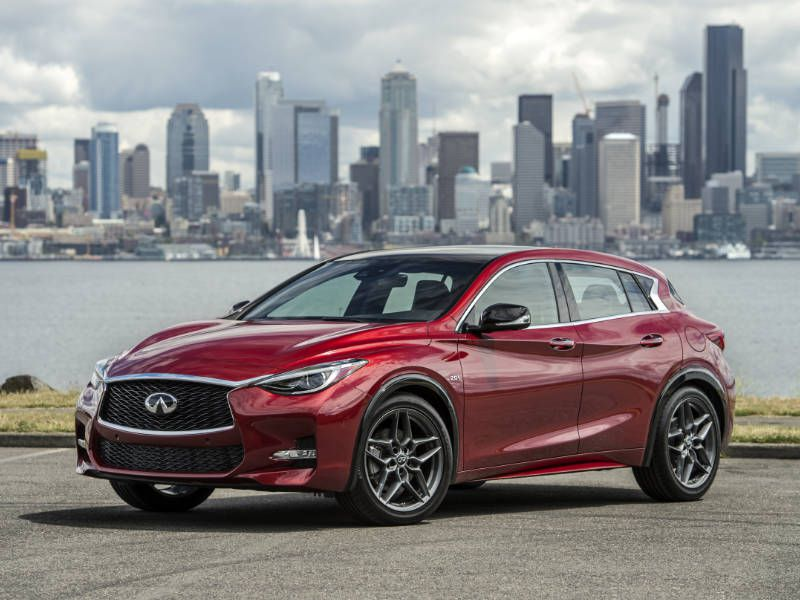 2017 Infiniti QX30 Hero Shot Seattle