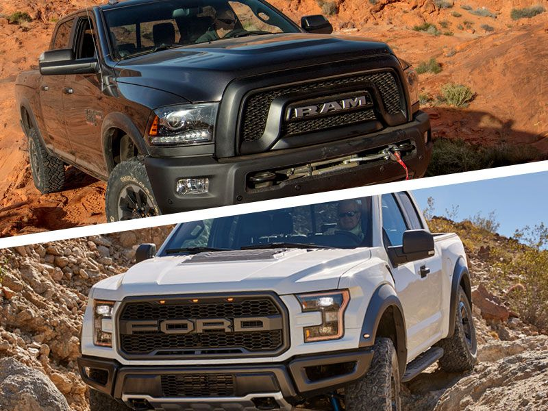 2017 RAM Power Wagon vs 2017 Ford Raptor: Which is Best?