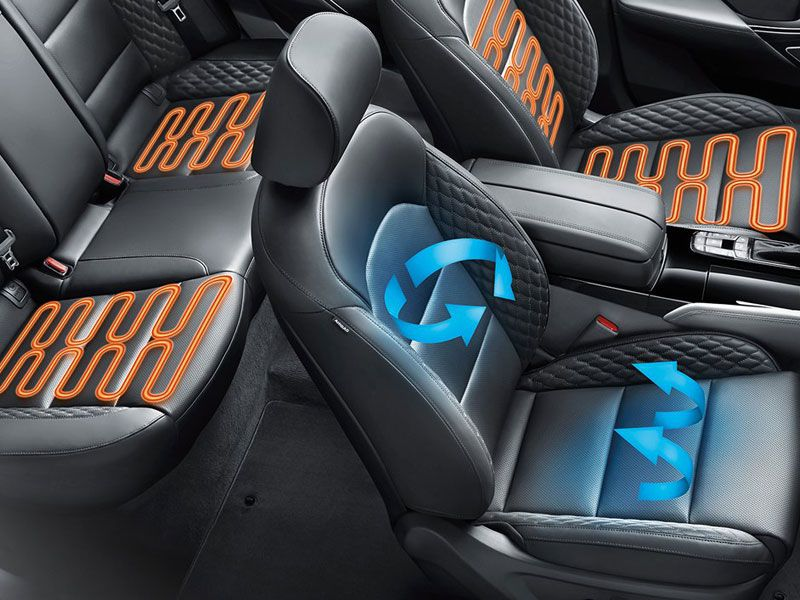 10 Top Cars with Air Conditioned (Cooled) Seats