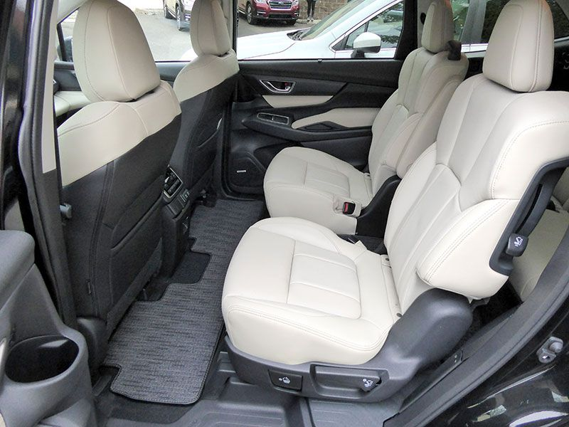 Subaru Ascent Ron Sessions Row Seats