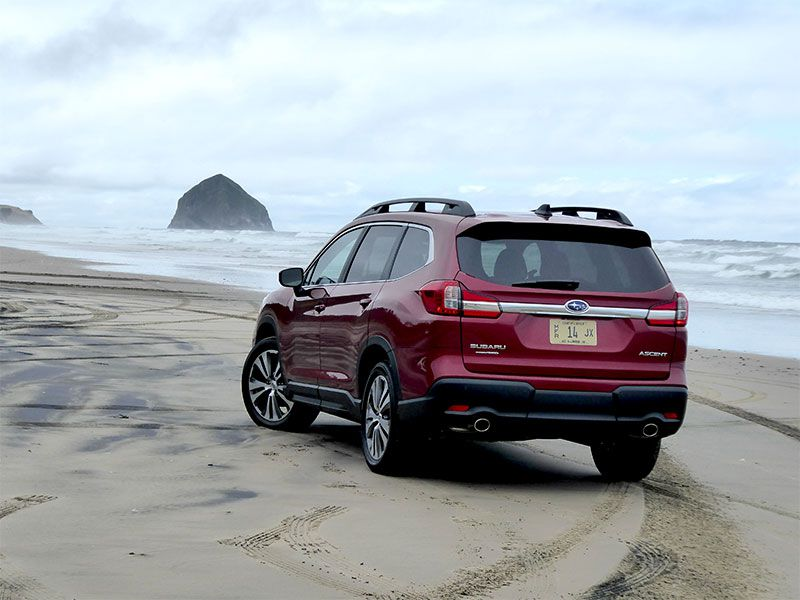 Subaru Ascent Ron Sessions Exterior Rear View