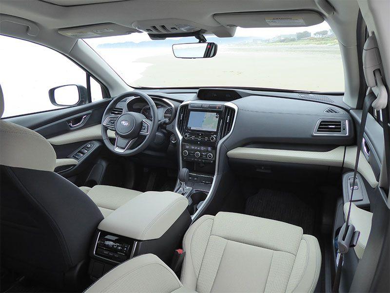 Subaru Ascent Ron Sessions Interior Front Seats Dashboard