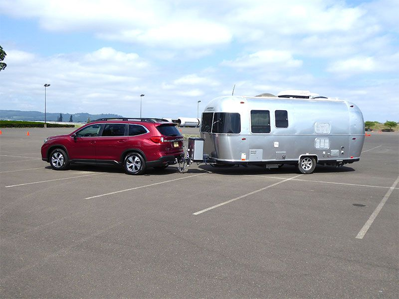 Subaru Ascent Ron Sessions Towing
