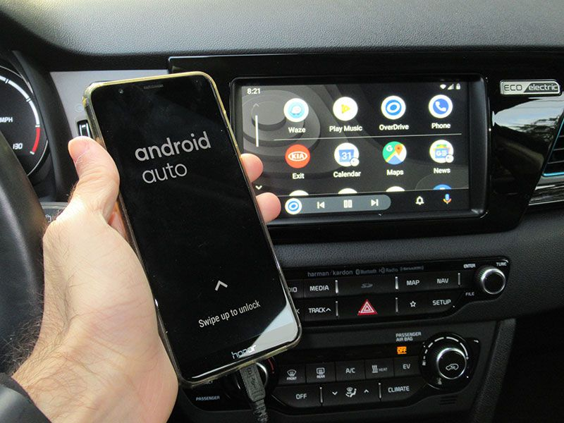 2020 Android Auto home screen 01
