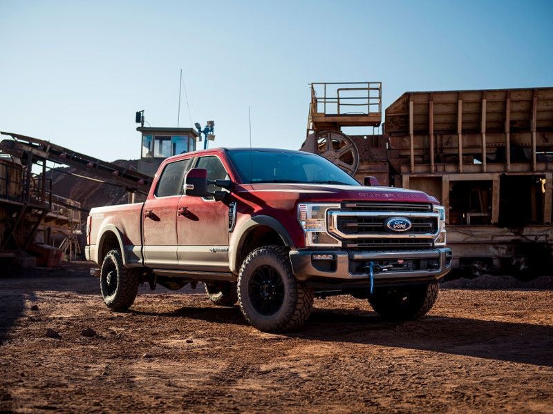 How much does a Ford Super Duty Tremor cost?