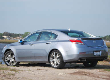 Acura Reviews on 2012 Acura Tl Sh Awd Road Test And Review   Autobytel Com