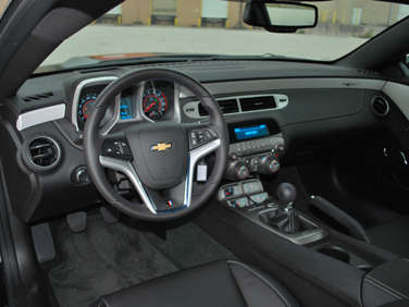 Camaro Interior on 2012 Chevrolet Camaro Ss 45th Anniversary Special Edition Road Test