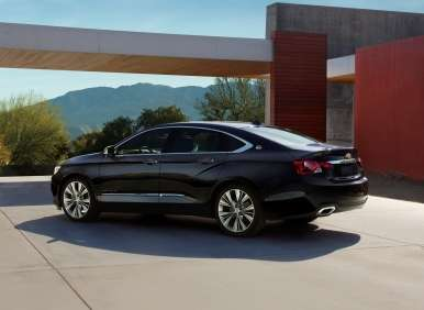2014 Chevy Impala on 2014 Chevrolet Impala Debuts At New York Auto Show