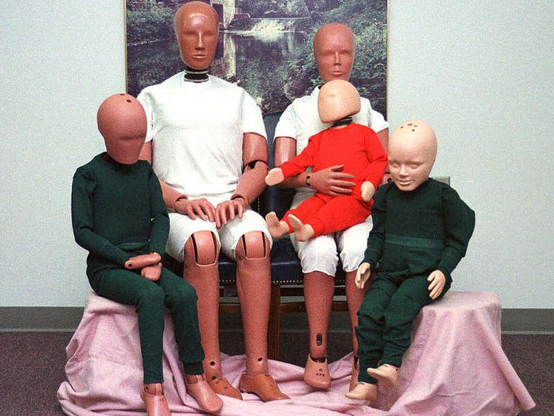 Ever wonder how a crash test dummy is born?