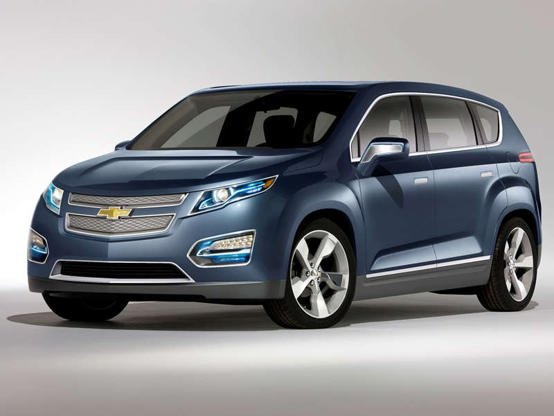 GM unveils electric crossover at the 2010 Beijing Auto Show