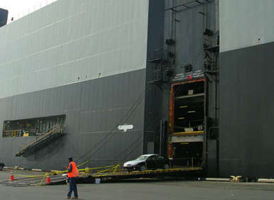 Car carriers are massively large