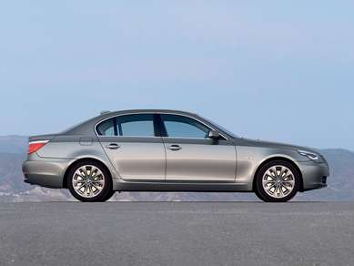 2008 BMW 5 Series side