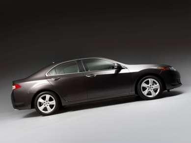 2009 Acura TSX side profile