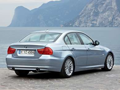 2009 BMW 3 Series Rear