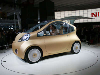 Nissan Nuvu Concept sideview