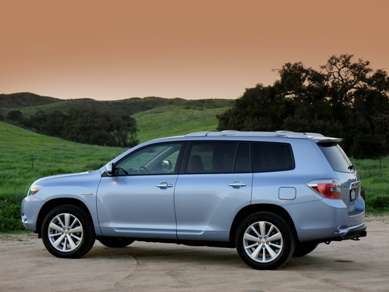 2008 Toyota Highlander Hybrid Review