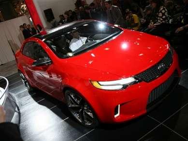 2008 New York Auto Show Kia Koup Concept Preview  Autobytelcom