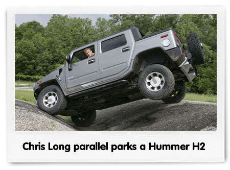 Chris Long in a Hummer H2