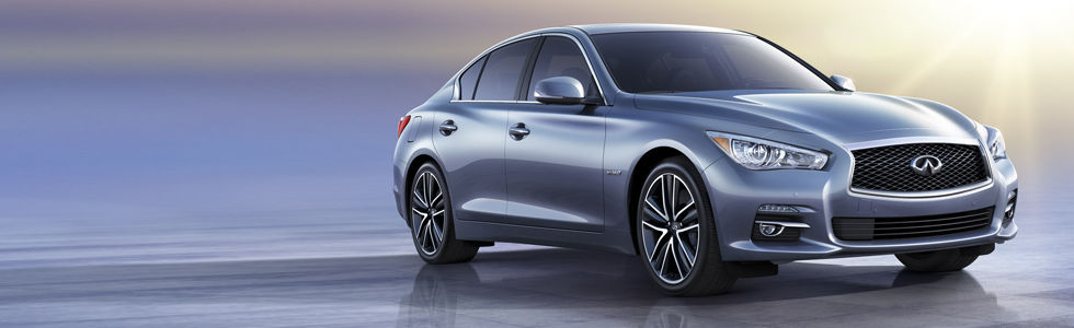 The 2014 Infiniti Q50 is a luxury sedan that is both stylish and comfortable. It comes from good 'G'enes!
