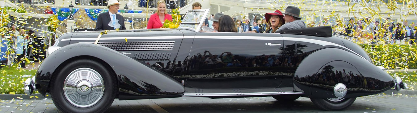 Monterey Car Week is a 5 day party with amazing cars on display around Pebble Beach. Check out the show!