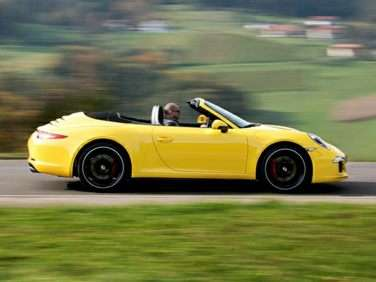 Topless Trophy Goes to 2013 Porsche 911