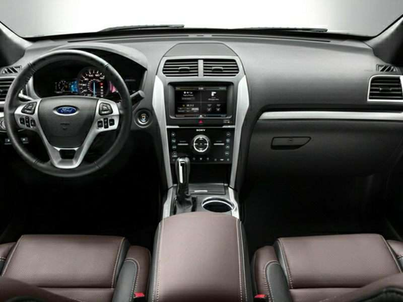 2017 Ford Explorer Pictures Including Interior And Exterior Images Autobytelcom