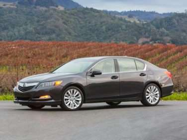Research the 2017 Acura RLX