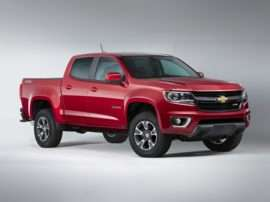 2017 Chevrolet Colorado Z71 4x4 Crew Cab Long Box