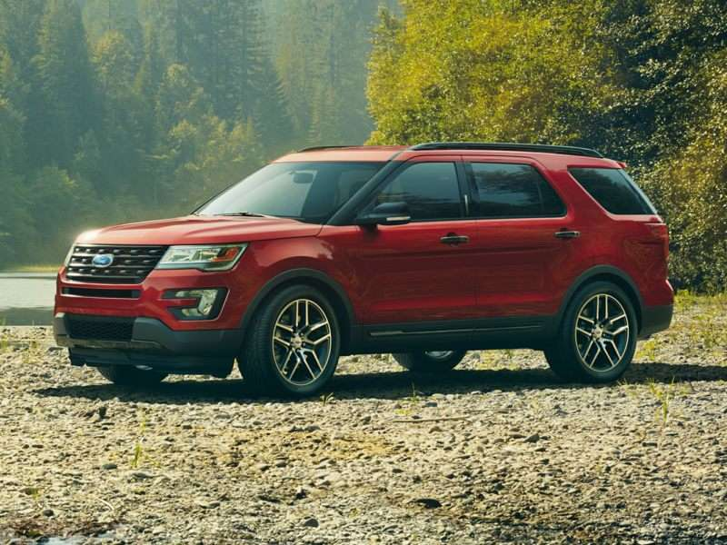 Research the 2017 Ford Explorer