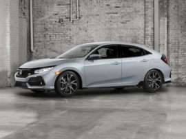 2017 Honda Civic EX-L With Navigation (CVT) Hatchback