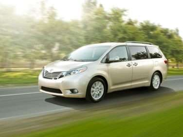 Research the 2017 Toyota Sienna