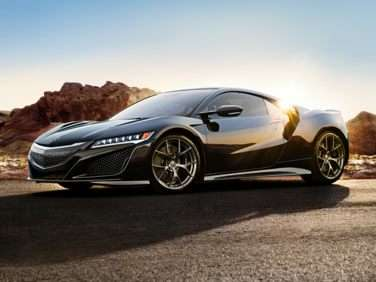 Research the 2018 Acura NSX