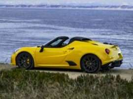 2018 Alfa Romeo 4C Spider Base