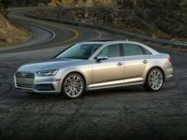 2018 Audi A4 quattro Sedan with S tronic