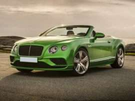 2018 Bentley Continental GT Supersports Convertible