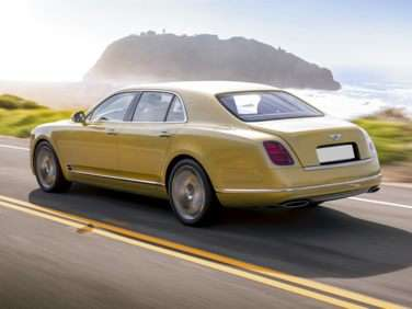 Research the 2018 Bentley Mulsanne