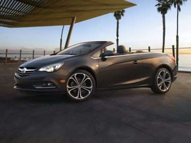 Research the 2018 Buick Cascada