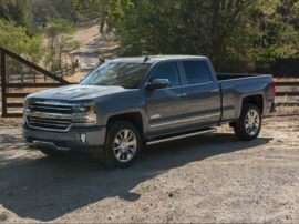 2018 Chevrolet Silverado 1500 High Country 4x4 Crew Cab 6.5