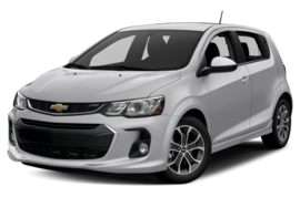 2018 Chevrolet Sonic LT Manual Hatchback