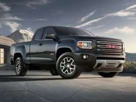 2018 GMC Canyon All Terrain w/Leather 4x4 Extended Cab