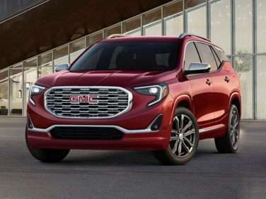 Research the 2018 GMC Terrain