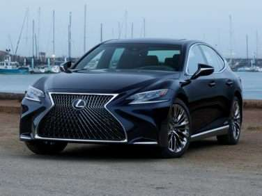 Research the 2018 Lexus LS 500h