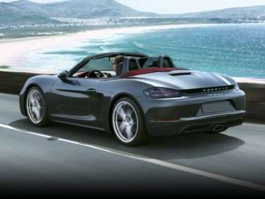 Research the 2018 Porsche 718 Boxster