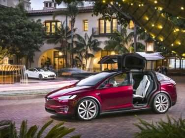 Research the 2018 Tesla Model X