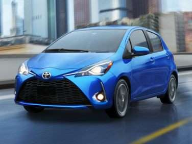 Research the 2018 Toyota Yaris