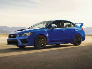 Research the 2019 Subaru WRX STI