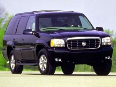 1999 Cadillac Escalade Price, Cost, and MSRP Data