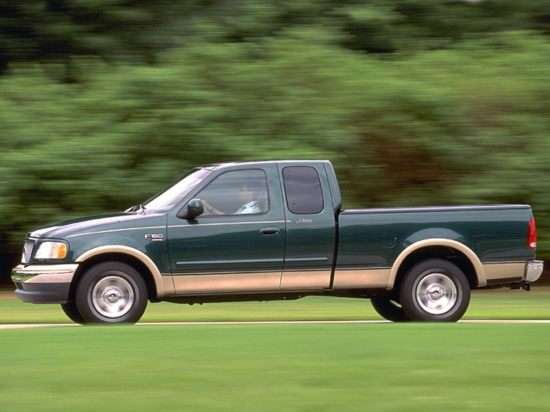 1999 Ford F-250 Lariat 4x4 SuperCab Styleside Styleside