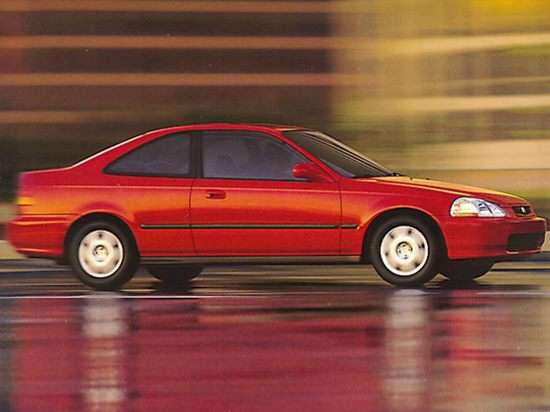 1999 Honda Civic DX (A4) Coupe