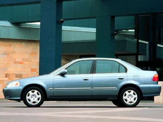 1999 Honda Civic EX (M5) Sedan